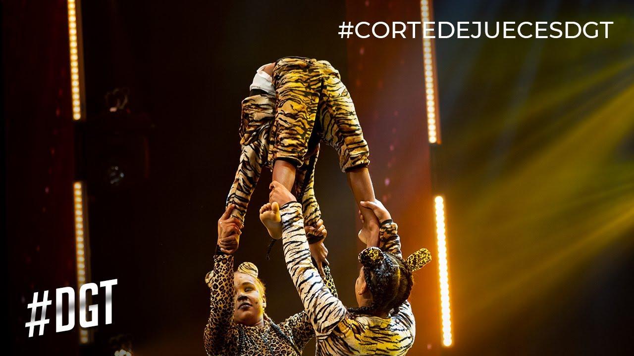 ¡Alucinante! Las Estrellitas se doblan y se desdoblan | Dominicana´s Got Talent 2019