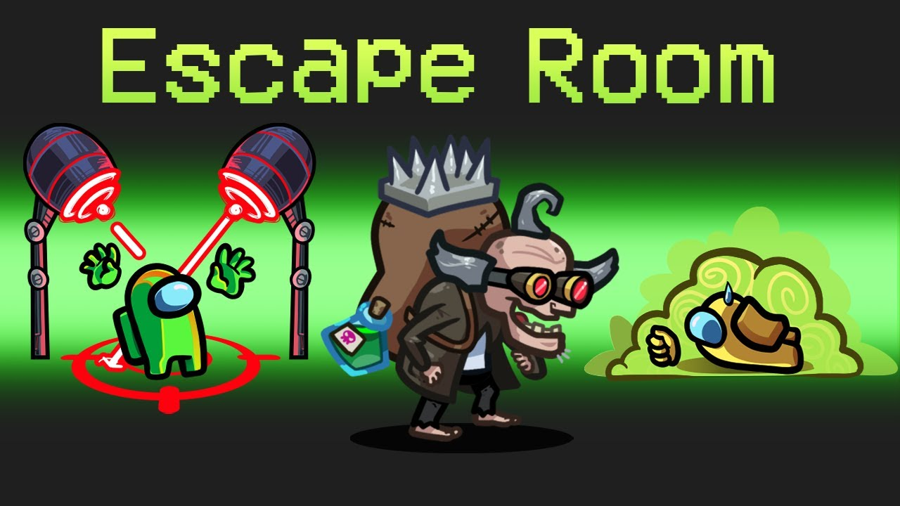Download *ESCAPE ROOM* Role in Among Us