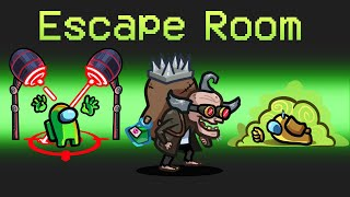 *ESCAPE ROOM* Role in Among Us