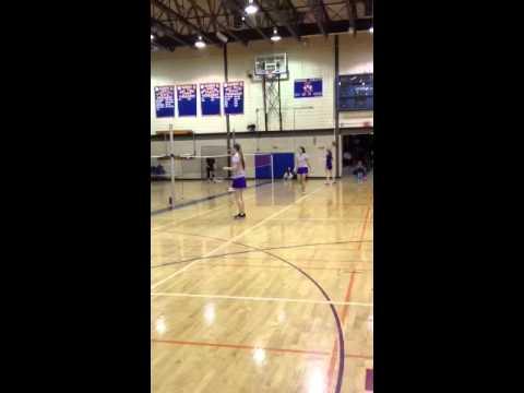 Eva/ badminton Junior year