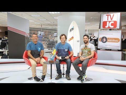 Surfista Fábio Gouveia, conhecido como 'Fabio Fabuloso', na TVJC!