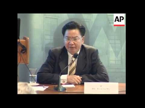 Chairman of Mainland Affairs Council visits Washington