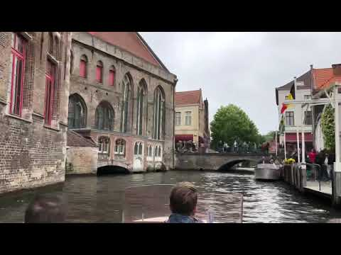 Boat ride in Bruges, Belgium - Venice of the North