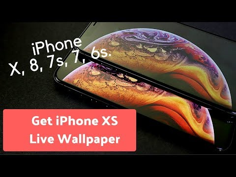 Get the iOS 12 Live Wallpapers for your iPhone X or earlier
