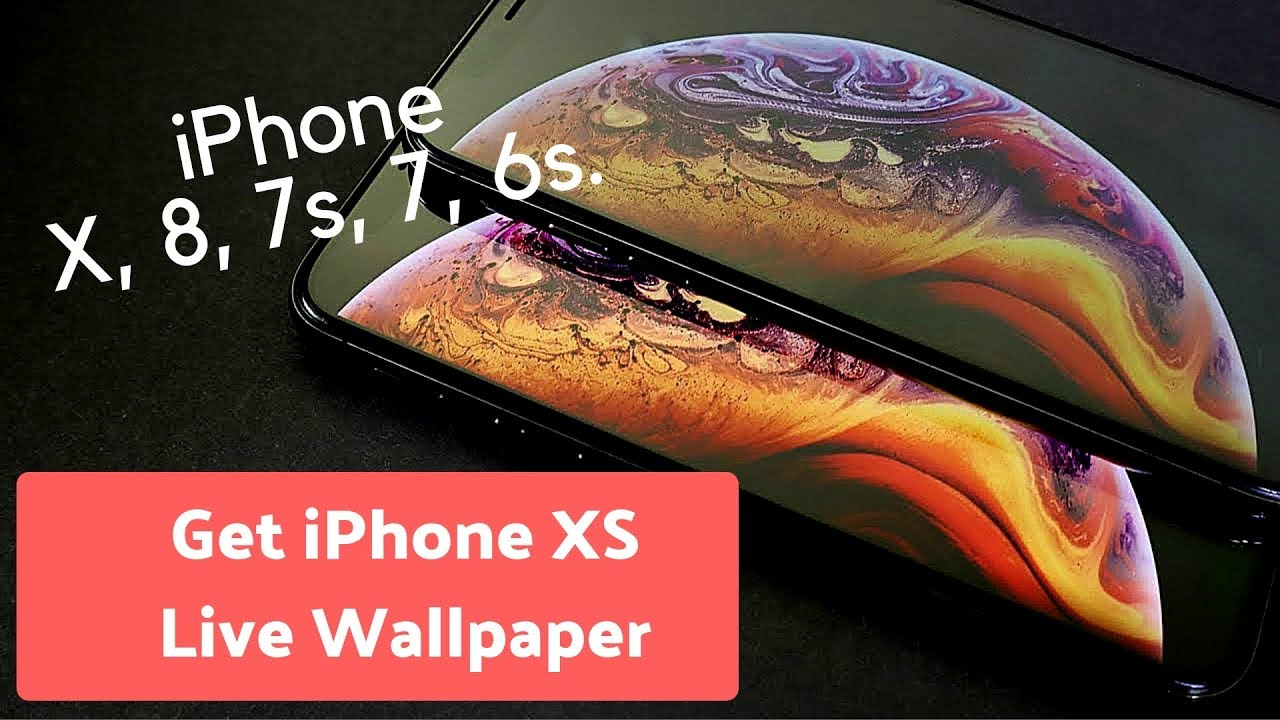 How To Get Iphone Xs Live Wallpapers On Iphone X 8 7 Or Earlier
