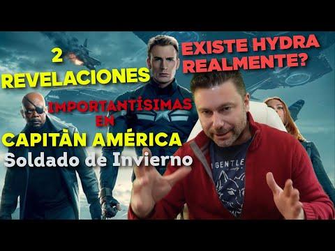 """Dos Revelaciones Importantísimas en """"Capitán América: Soldado de Invierno""""."""