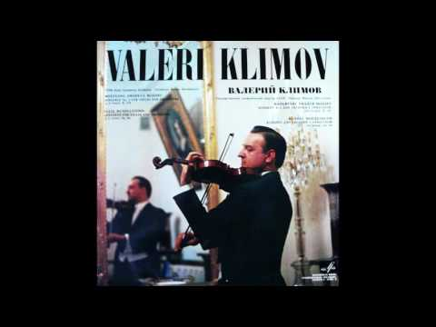 Valeri Klimov ‎– Concertos For Violin And Orchestra