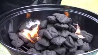 Weber Jumbo Joe - Getting started with a first burn