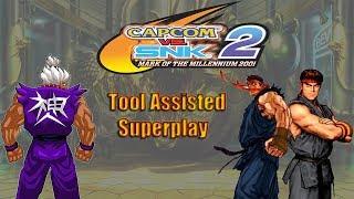 Capcom vs SNK 2 - Shin Akuma, Evil Ryu & Ryu【TAS】