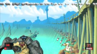 Lets Play Worms Revolution Part 6 PS3 HD
