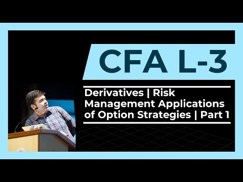 CFA Level 3 | Derivatives | Risk Management Applications of Option Strategies | Part 1