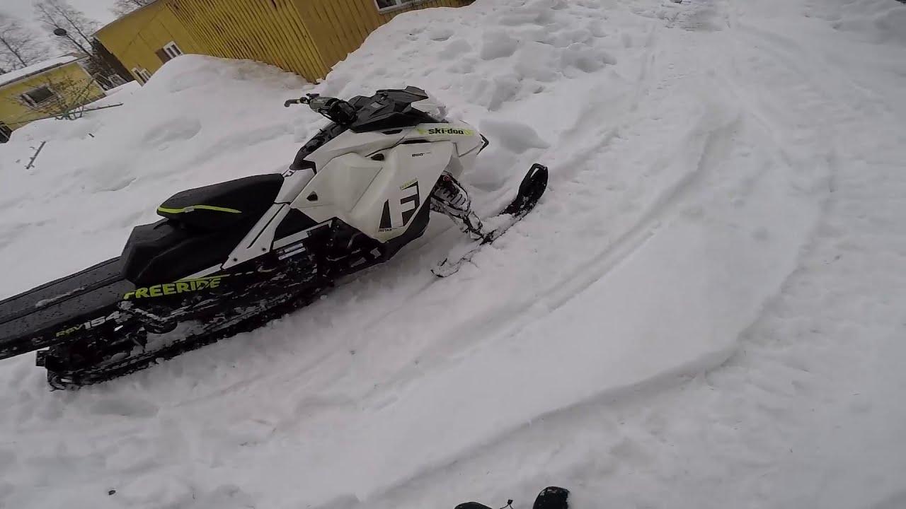 Ski-Doo Freeride 850 | Diablo Clutch Kit And Slush  Rami Kemppe 06:48 HD