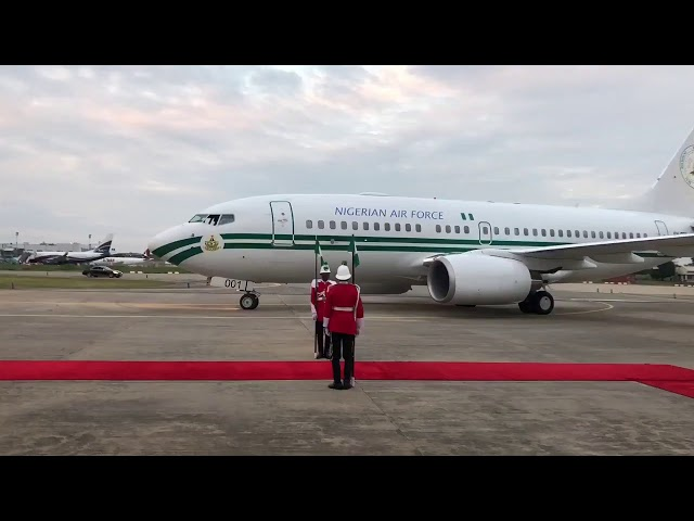 President Muhammadu Buhari Arrives Abuja From London
