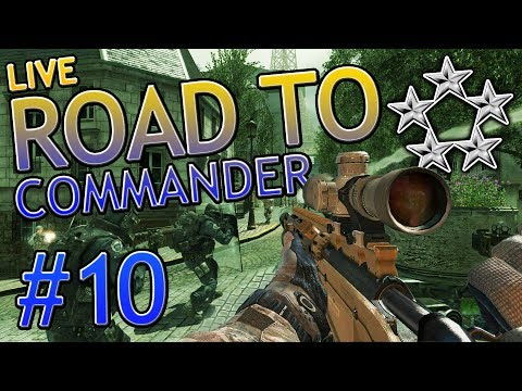 MW3 Live Road To Commander w/ Trout #10