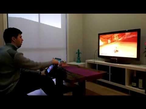 Wii U Wheel: MK8 Gameplay