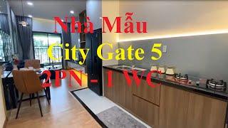 Tham Quan Căn Hộ Mẫu City Gate 5 Dự Án Căn Hộ NBB 2 Nhà Mẫu 2 Phòng Ngủ 1 WC 54,46 m2
