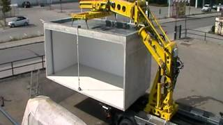 Deuringer Garagen Transport Absetzsystem TYP SFD170