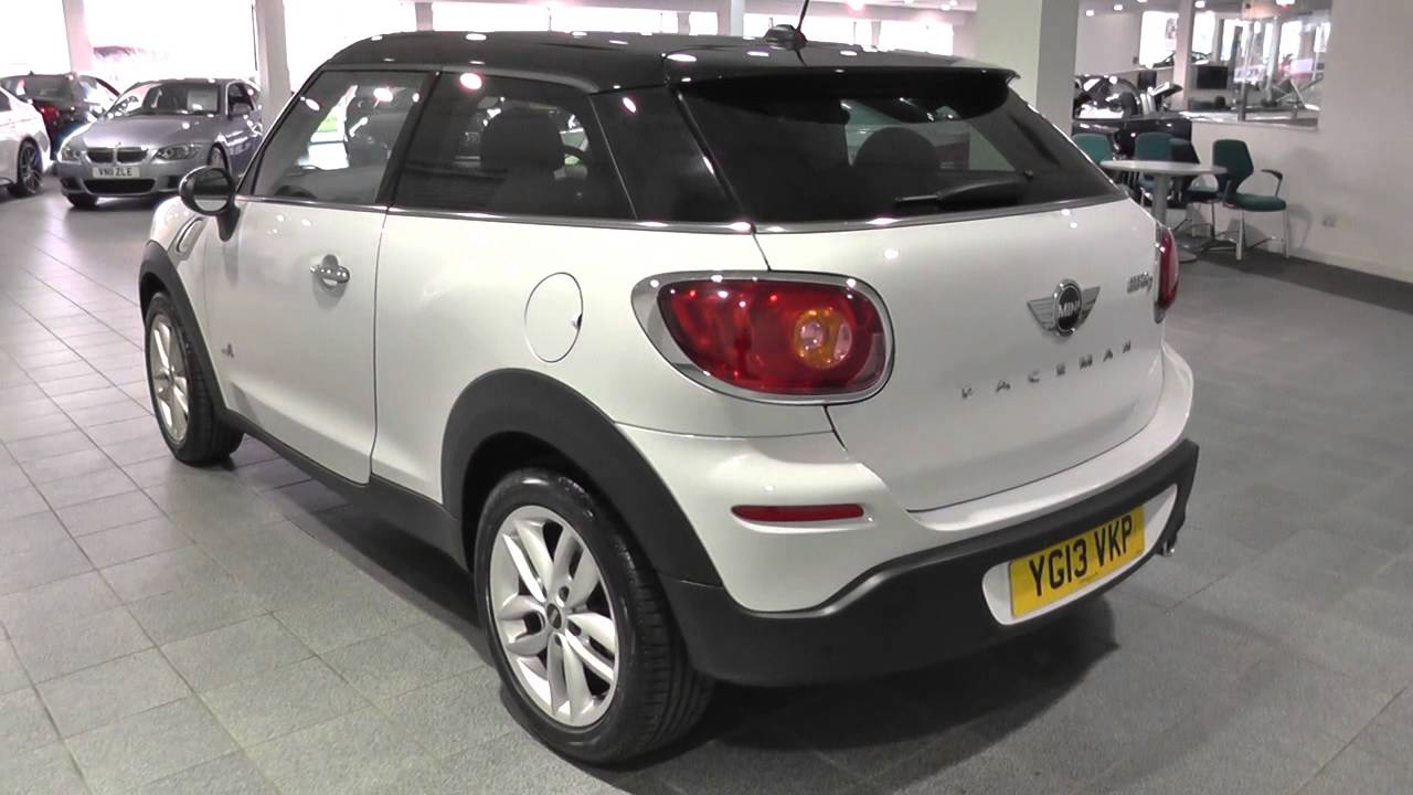 Mini Paceman 16 Cooper D All4 3dr Chili Pack U1930 Youtube