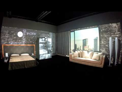 3D Room Video Mapping Projection London Design Week 100 Design