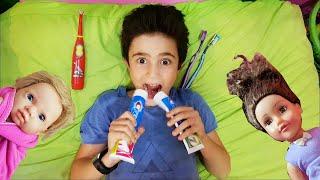 Hasouna Fun Story Kids play with Toy |  حسونة وسوبر سيلينا العاب جديدة للاطفال