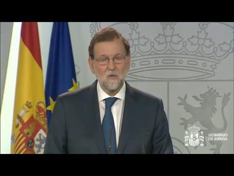 Rajoy comparece en Consejo de Ministros Extraordinario
