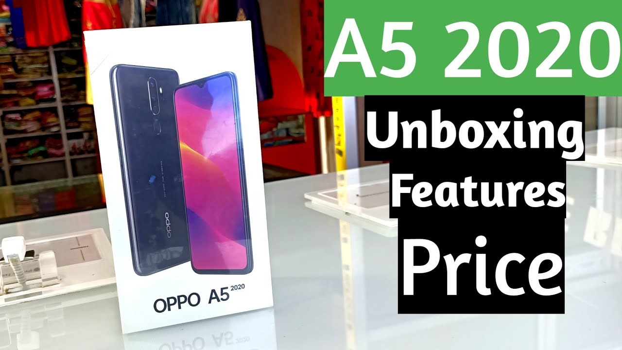 Oppo A52020 3gb64gb Unboxing First Look A5 2020 Price 12990 Flipkartamazonretail Store