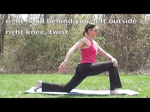 3DVisual Yoga at the Park