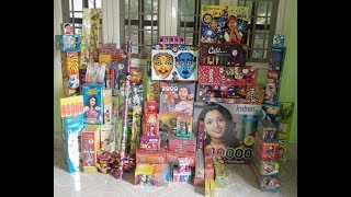 Diwali Fire crackers collections 2017
