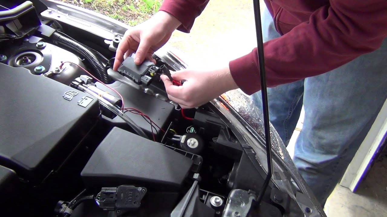 2010 Acura Tl Light Wire Diagram 2011 Mazda3 8k Hid Light Install Youtube