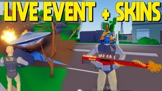 AREA 51 ALIEN LIVE EVENT + ALL SKIN UNBOXINGS (Roblox Strucid)