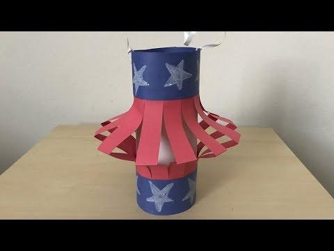Patriotic 4th OfJuly Lantern Easy DIY Crafts For Kids