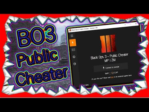 [PS3/PS4/BO3/1.07] Black Ops 3 Public Cheater Cheat Hack Tool MODZ  + DOWNLOAD