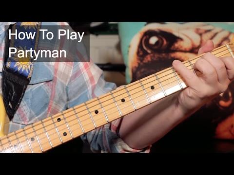 'Partyman' Prince Guitar Lesson
