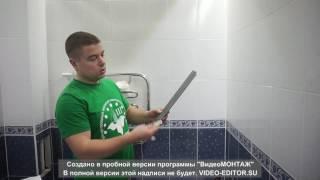 Контурная подсветка потолка в ванной