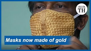 Masks are getting a luxurious make-over in India