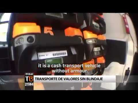 Spinnaker iBox - secure cash transport in Chile