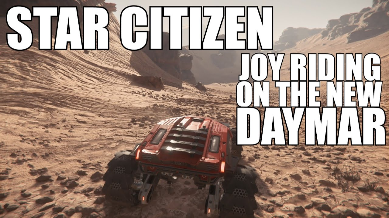 Star Citizen! New Daymar racing in a Cyclone RC in PTU gameplay!! MUST SEE
