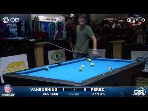 USBTC 8-Ball: Shane Van Boening vs Manuel Perez
