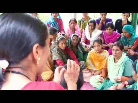 Women participation in a GEF project in India