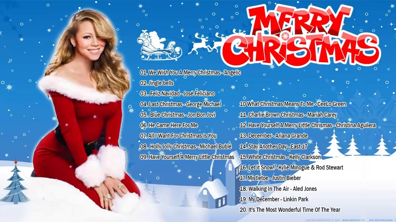 Canciones Navideñas En Ingles Musica De Navidad En Ingles 2019 Canciones De Navidad De Famosos Youtube