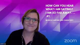 'HOW CAN YOU HEAR...' #1 - Monica Cantieni and Sandip Roy