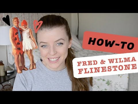 HOW-TO: FRED & WILMA FLINTSTONE | REDBIRD PROJECTS