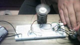 PWM regulátor otáček stejnosměrného motoru