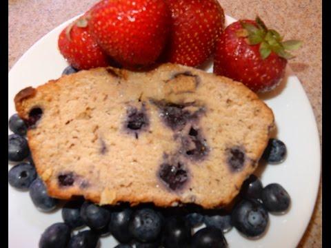 BANANA BLUEBERRY BREAD ( VEGAN/PLANT BASED ) VEGAN MAMA MI