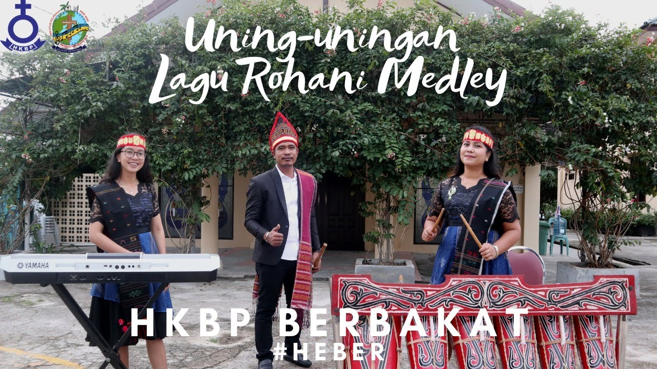 UNING-UNINGAN LAGU ROHANI MEDLEY - By Friska Tobing, Swingly Tampubolon, Corry Sidabutar (HEBER #8)