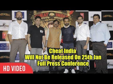 FULL EVENT-Cheat India Prepone Release To 18th Jan | Emraan Hashmi, Bhushan Kumar, Aditya Thackeray Mp3