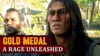 Red Dead Redemption 2 - Mission #74 - A Rage Unleashed [Gold Medal]