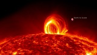 NASA | Fiery Looping Rain on the Sun thumbnail