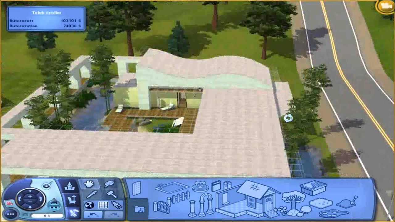 Curved Wall Roof Tutorial The Sims 3 Youtube