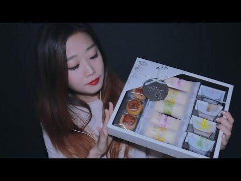 [English ASMR] Tea Time with traditional desserts 티타임과 다과 냠냠 즐거운 추석 보내세요!
